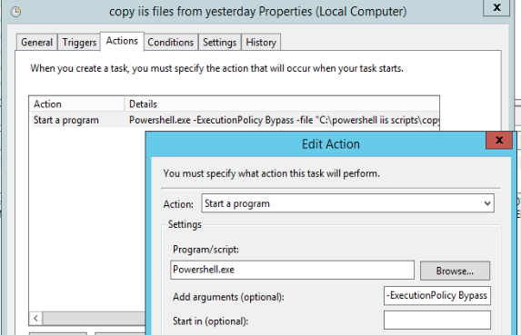 Automate copying IIS logs to SQL Database using Powershell